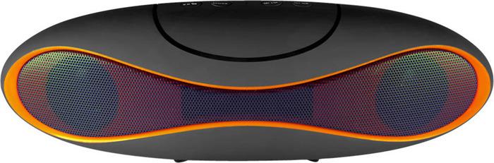 Беспроводная колонка Ginzzu, GM-997B, черный аудио колонка bluetooth 360 nfc u disck tf 1pcs lot 565125