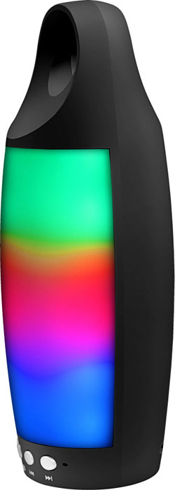 Беспроводная колонка Ginzzu, GM-895B, черный аудио колонка brand kerry kr 8800 bluetooth tf fm usb nfc 5c jambox kr 8800