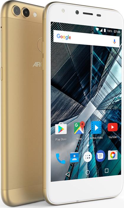 лучшая цена Смартфон Archos Sense 55DC 2/16GB, золотой