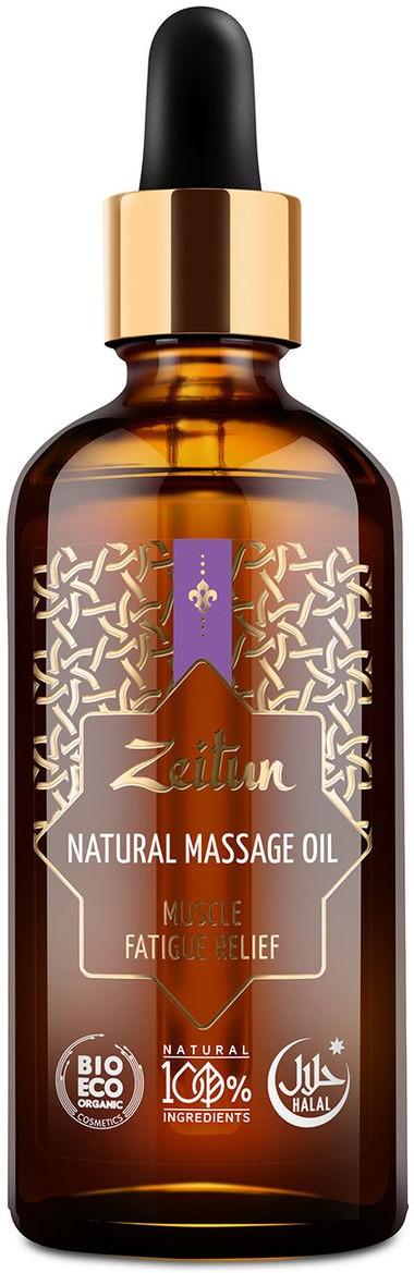 Зейтун Массажное масло №10 от мышечной усталости, 100 мл