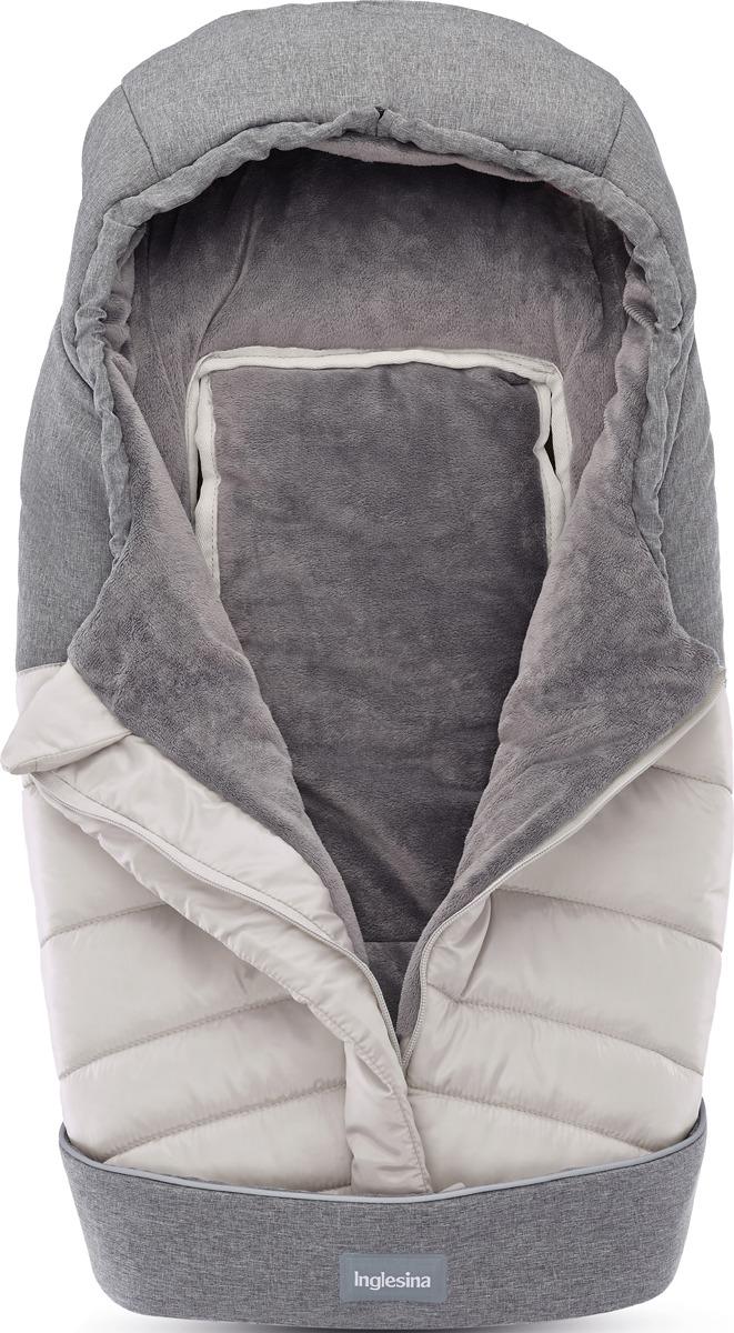Аксессуар для колясок Inglesina Зимний конверт, A099K2SLV, светло-серый, серый