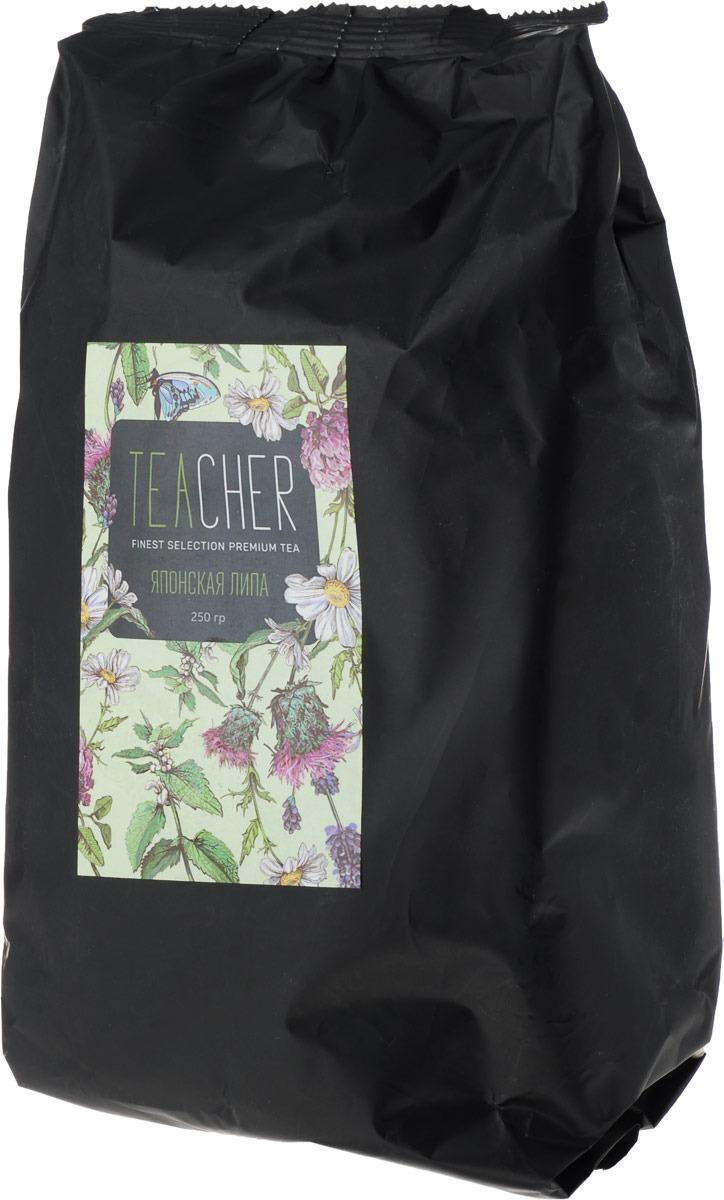 Чай травяной листовой Teacher Японская липа, 250 г teacher карельский чай цветочно травяной купаж 500 г