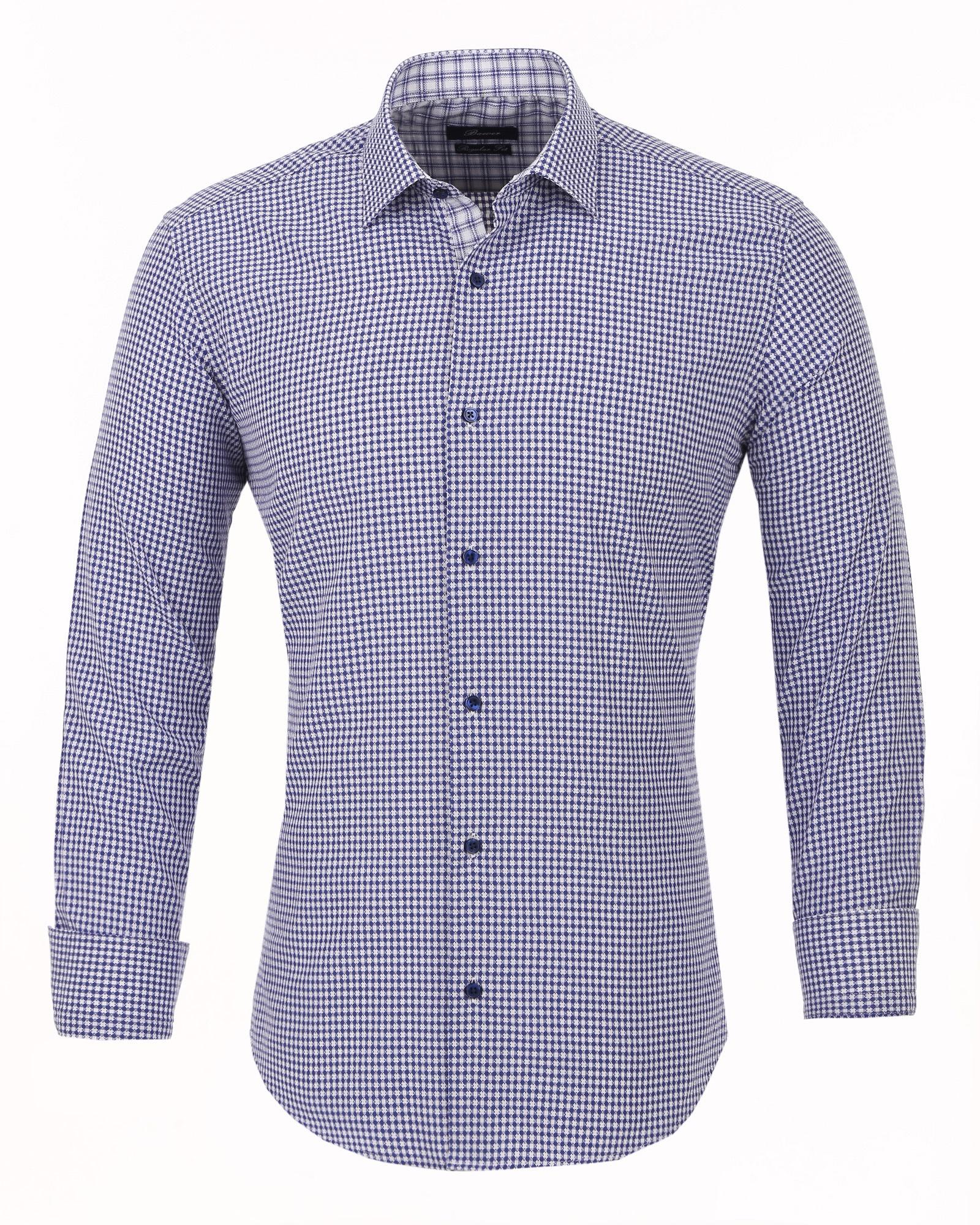 Рубашка Bawer РRZ1-50003-33_XXL, голубой 54, 56 размерРRZ1-50003-38_XXLМужская рубашка Bawer выполнена из высококачественного хлопка. Силуэт Regular Fit - это полуприталенная посадка, в меру зауженная и в тоже время просторная рубашка. Подходит для большинства типов фигур. Удобна в повседневной носке. Рубашка с отложным воротником и длинными рукавами, застегивается на пуговицы.