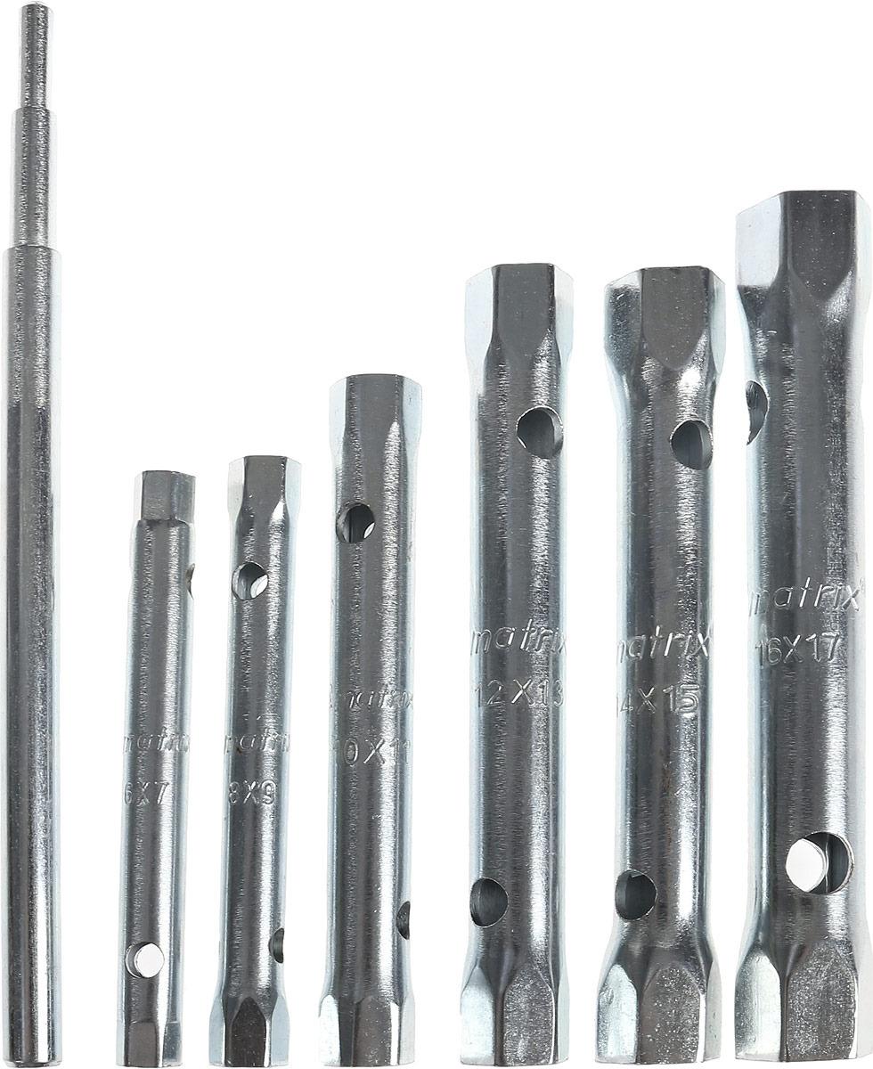 Набор ключей трубчатых торцевых Matrix, 7 шт набор трубчатых ключей fit 10 шт