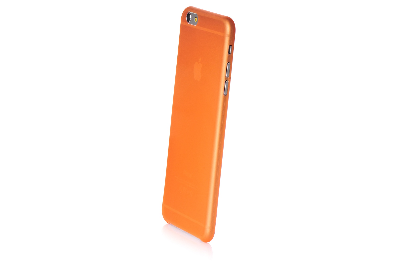 """Чехол для сотового телефона Gurdini пластик 0.2mm 620095 для Apple iPhone 6 Plus/6S Plus 5.5"""", оранжевый"""
