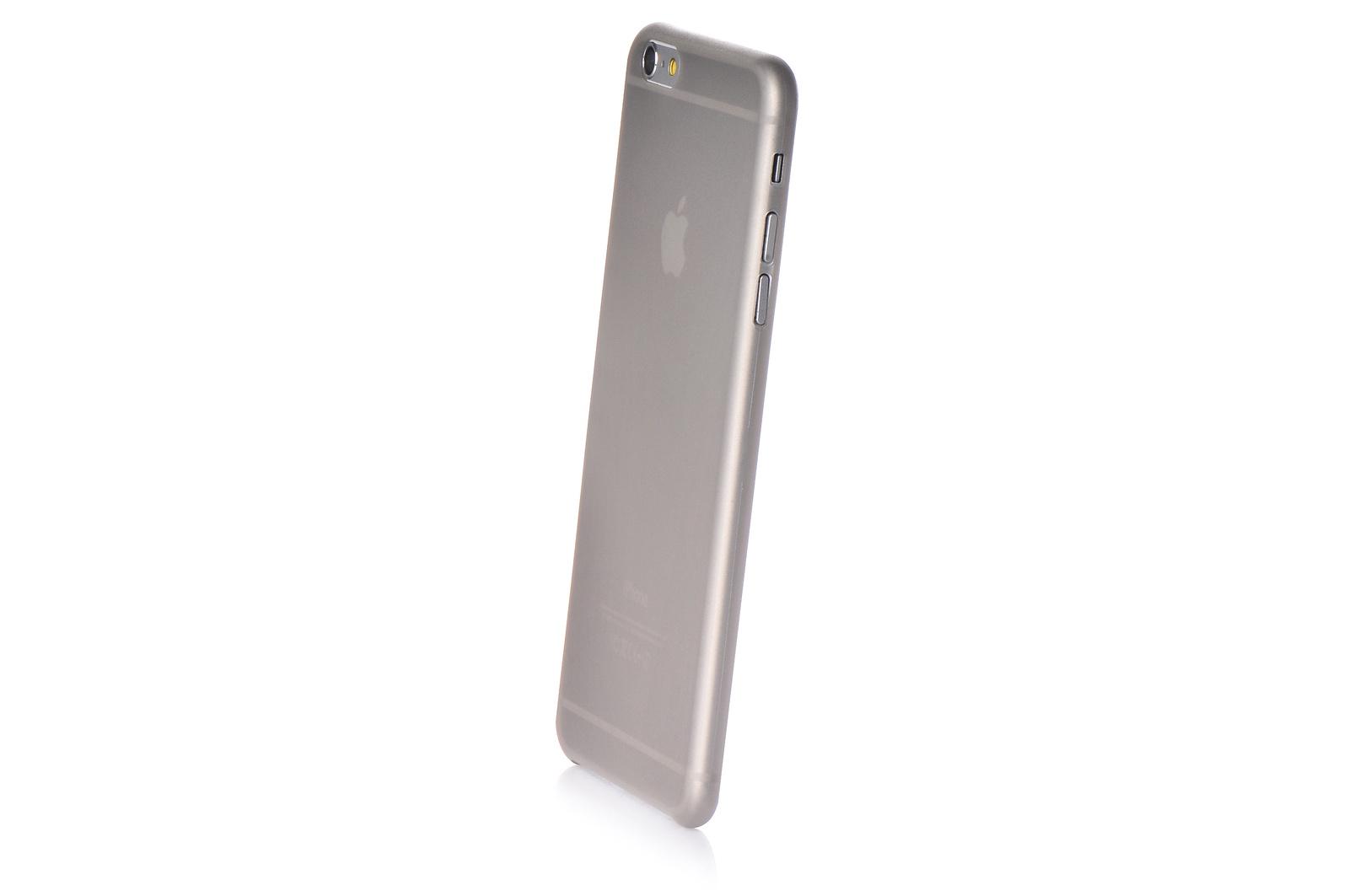 """Чехол для сотового телефона Gurdini пластик 0.2mm 620100 для Apple iPhone 6 Plus/6S Plus 5.5"""", серый"""