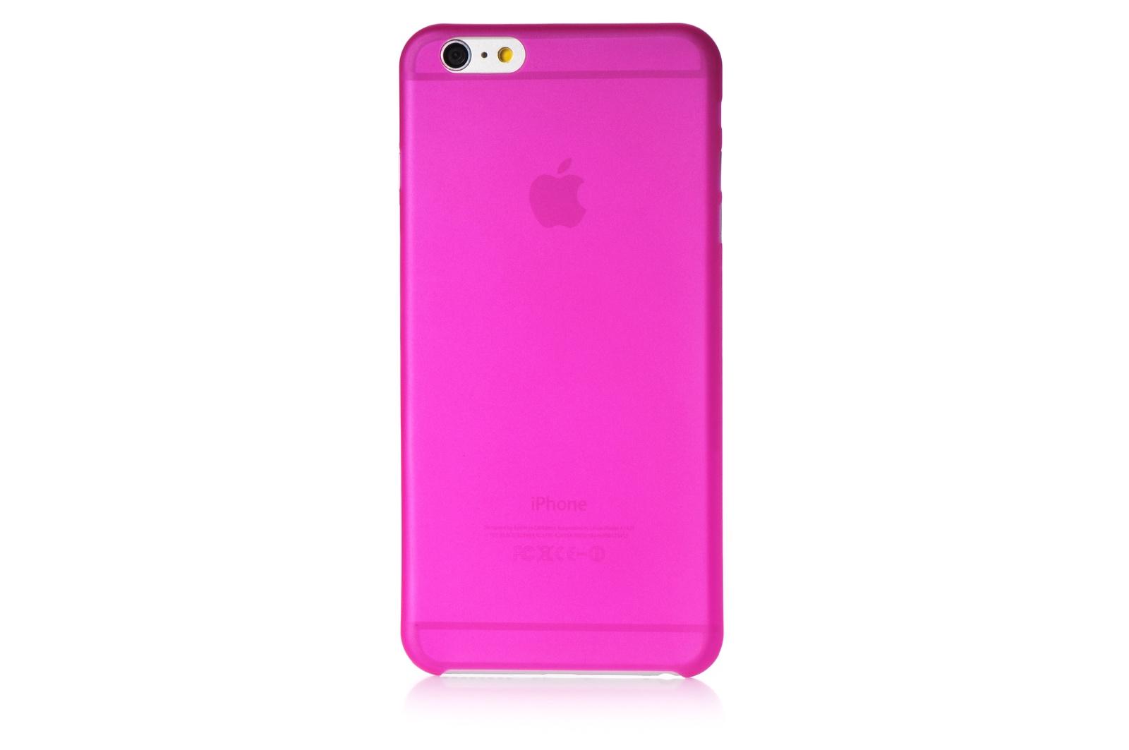 """Чехол для сотового телефона Gurdini пластик 620093 0.2mm для Apple iPhone 6 Plus/6S Plus 5.5"""", темно-розовый"""