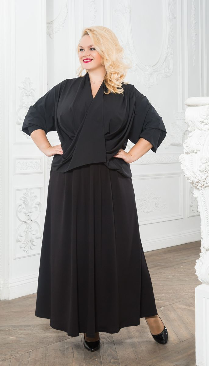 Блузка Зар-стиль юбка зар а стиль цвет черный