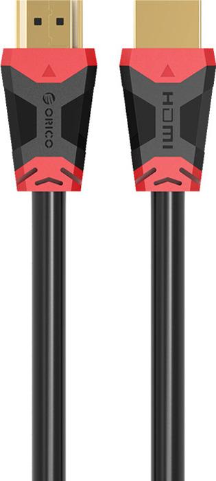 Кабель Orico HD303-10, 1 м, ORICO HD303-10-BK, черный