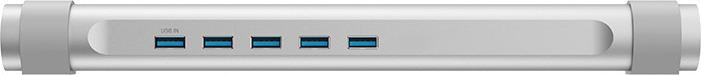 USB-концентратор Orico M4U3, ORICO M4U3-SV, серебристый