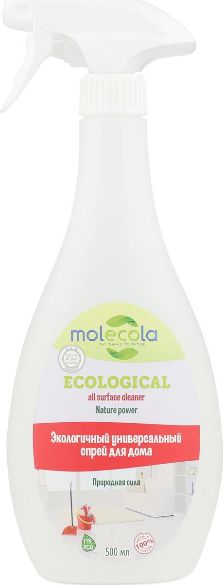 """Универсальный спрей для дома Molecola """"Nature Power"""", экологичный, 500 мл"""