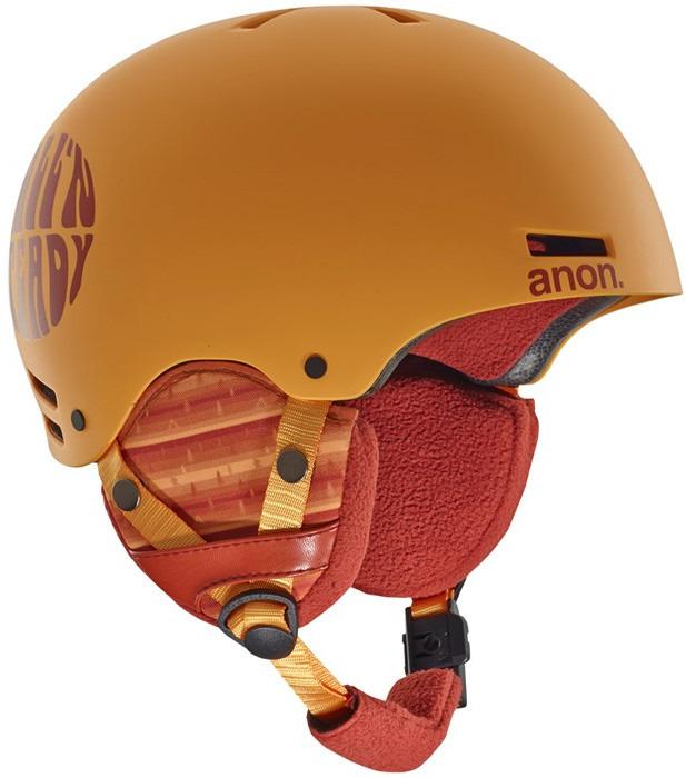 Шлем горнолыжный для мальчика Anon Rime. Размер S/M anon маска сноубордическая anon somerset pellow gold chrome