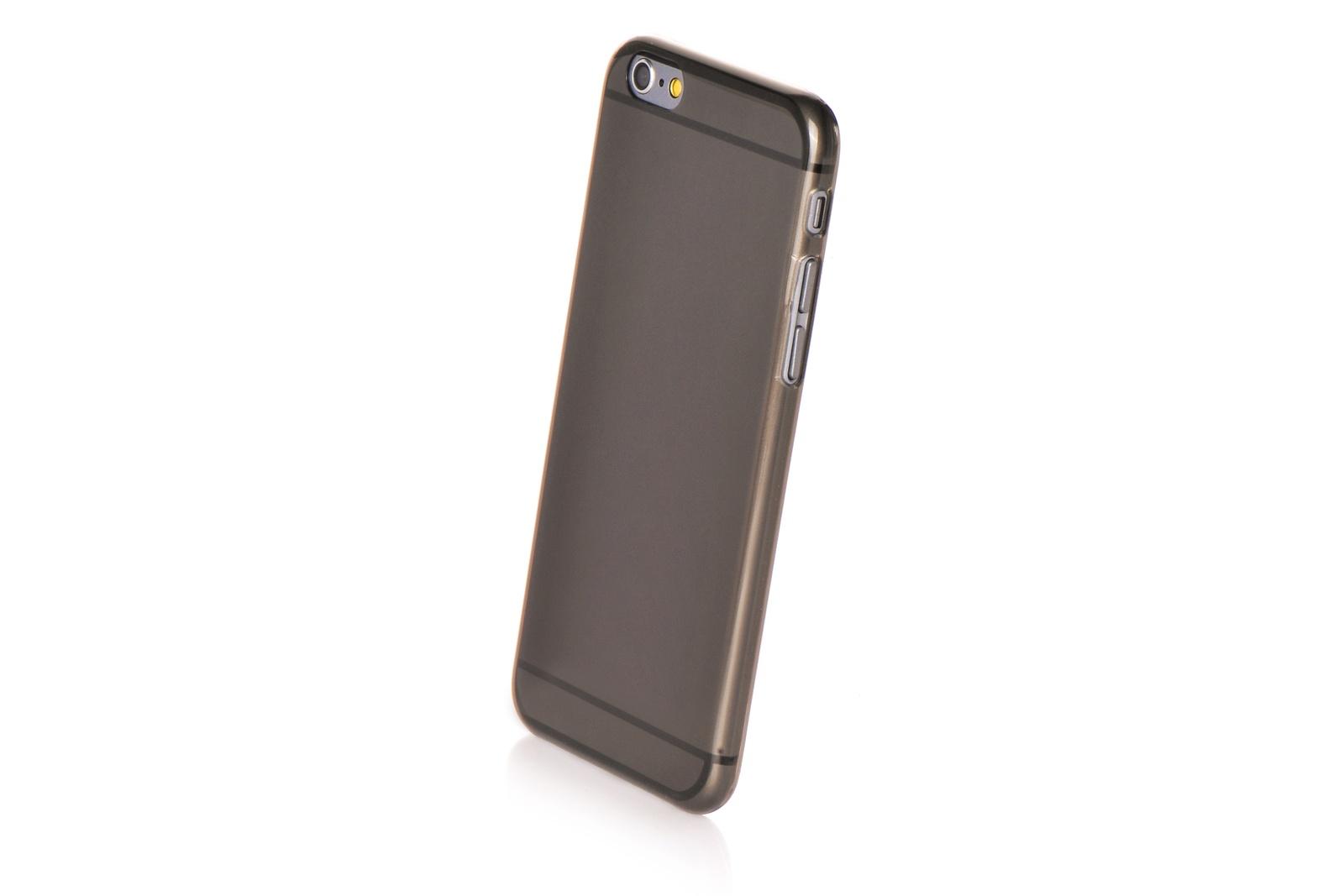 """Чехол для сотового телефона Gurdini силикон ультратонкий для Apple iPhone 6 Plus/6S Plus 5.5"""", черный"""