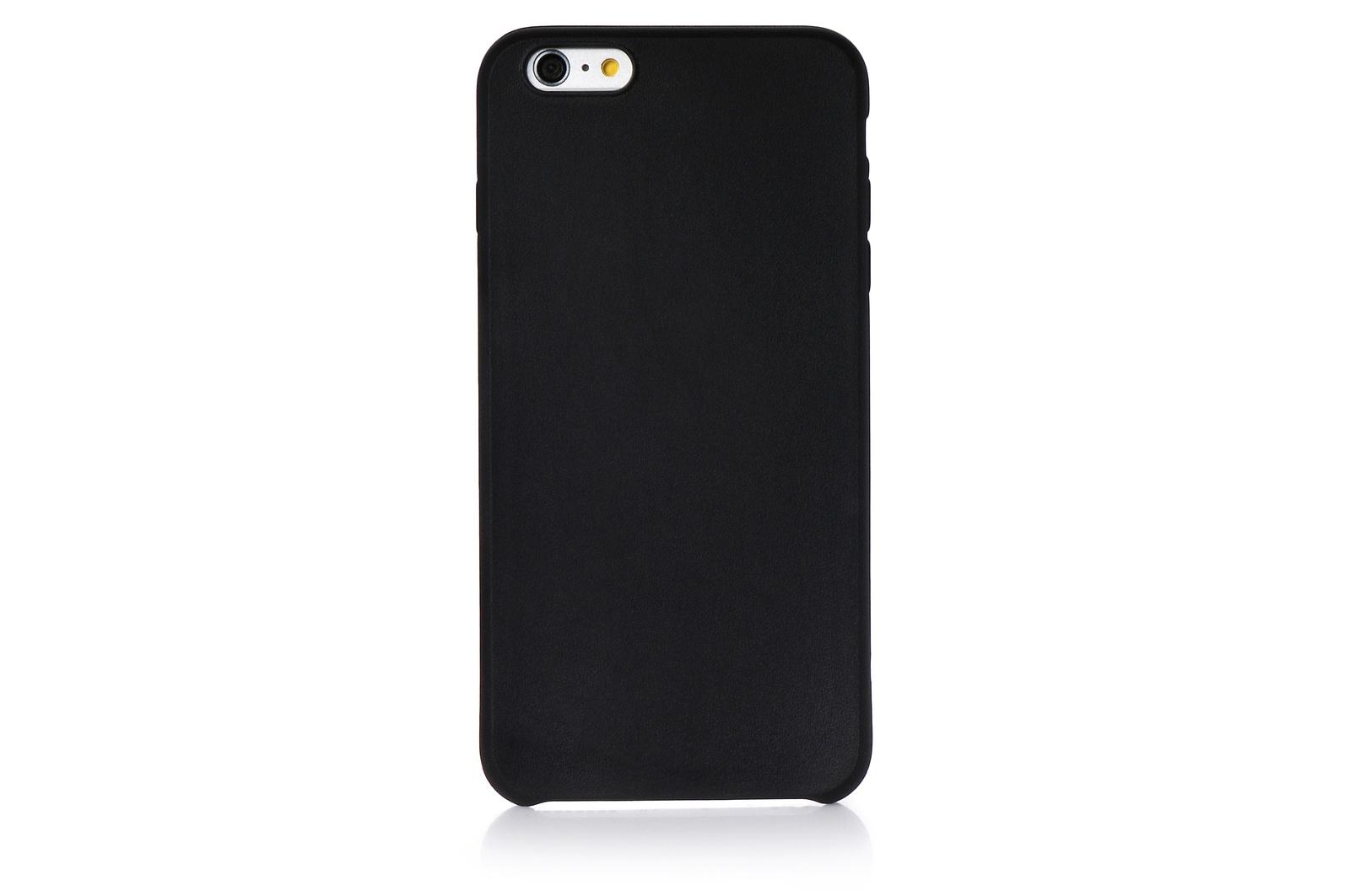 """Чехол для сотового телефона Gurdini силикон 620003 для Apple iPhone 6 Plus/6S Plus 5.5"""", черный"""