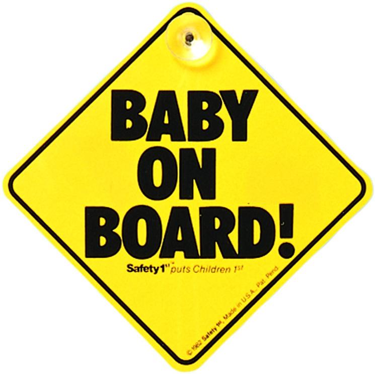 Знак автомобильный Safety 1st Знак «Ребенок в машине» на присоске в автомобиль 38000760, 38000760 цена
