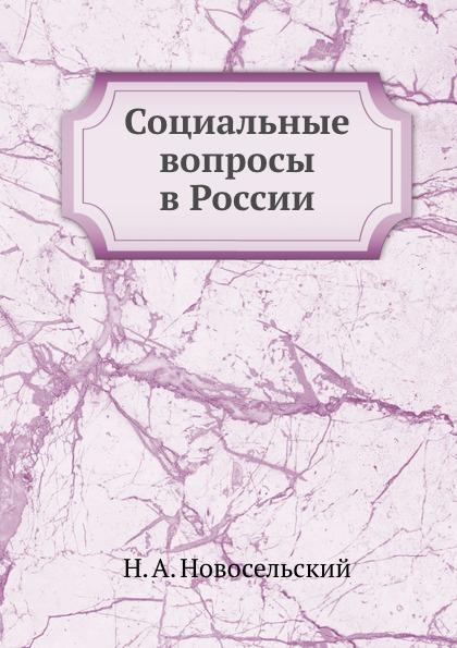 Н.А. Новосельский Социальные вопросы в России
