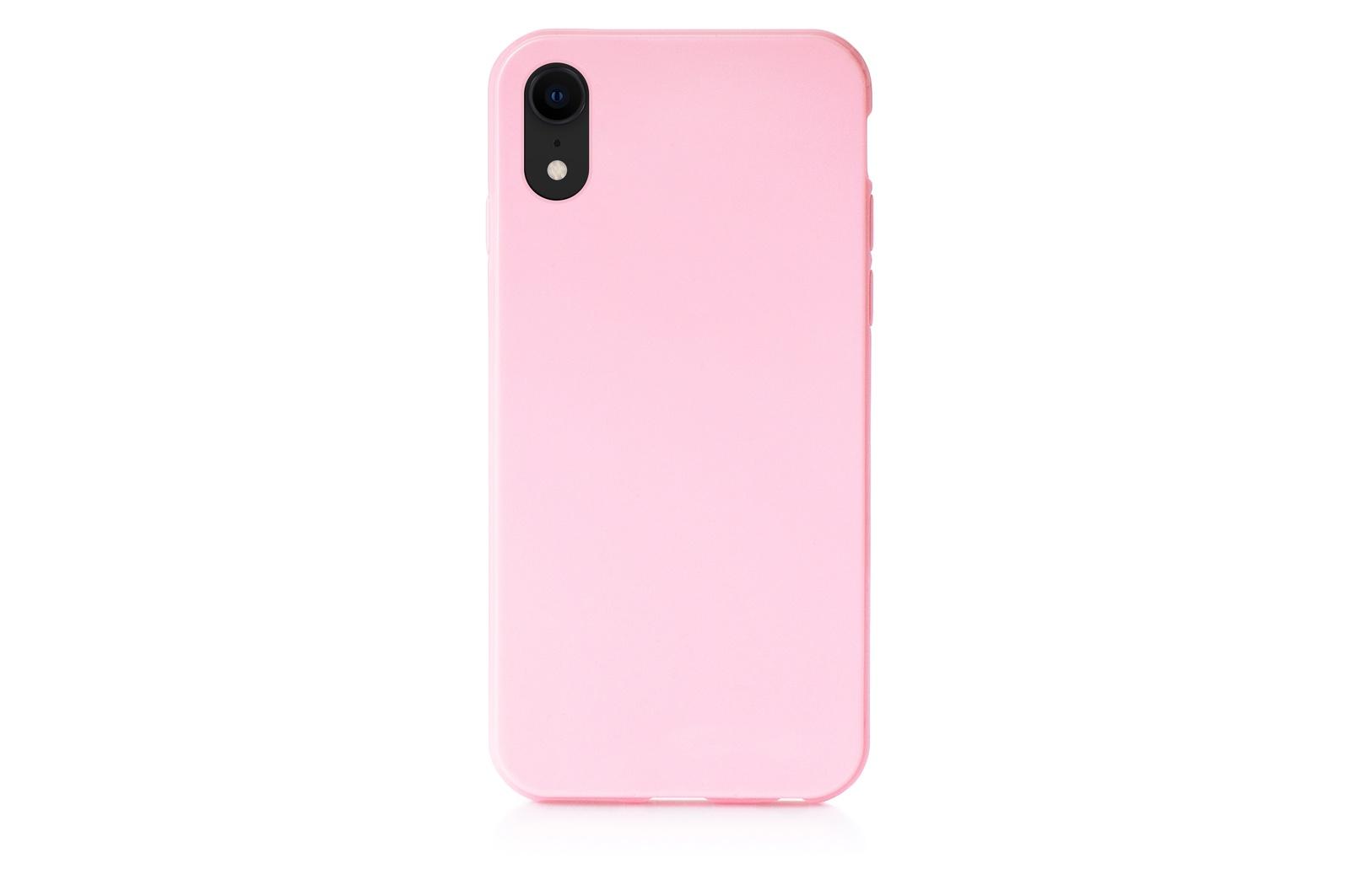 """Чехол для сотового телефона Gurdini Чехол накладка силиконовый мыльница для Apple iPhone XR 6.1"""", 907285, розовый"""
