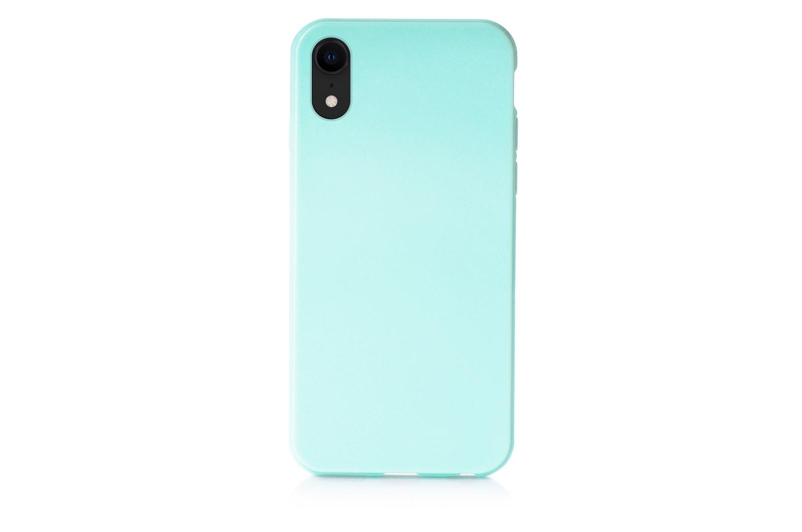 """Чехол для сотового телефона iNeez накладка силиконовый мыльница 907291 для Apple iPhone XR 6.1"""", светло-зеленый"""