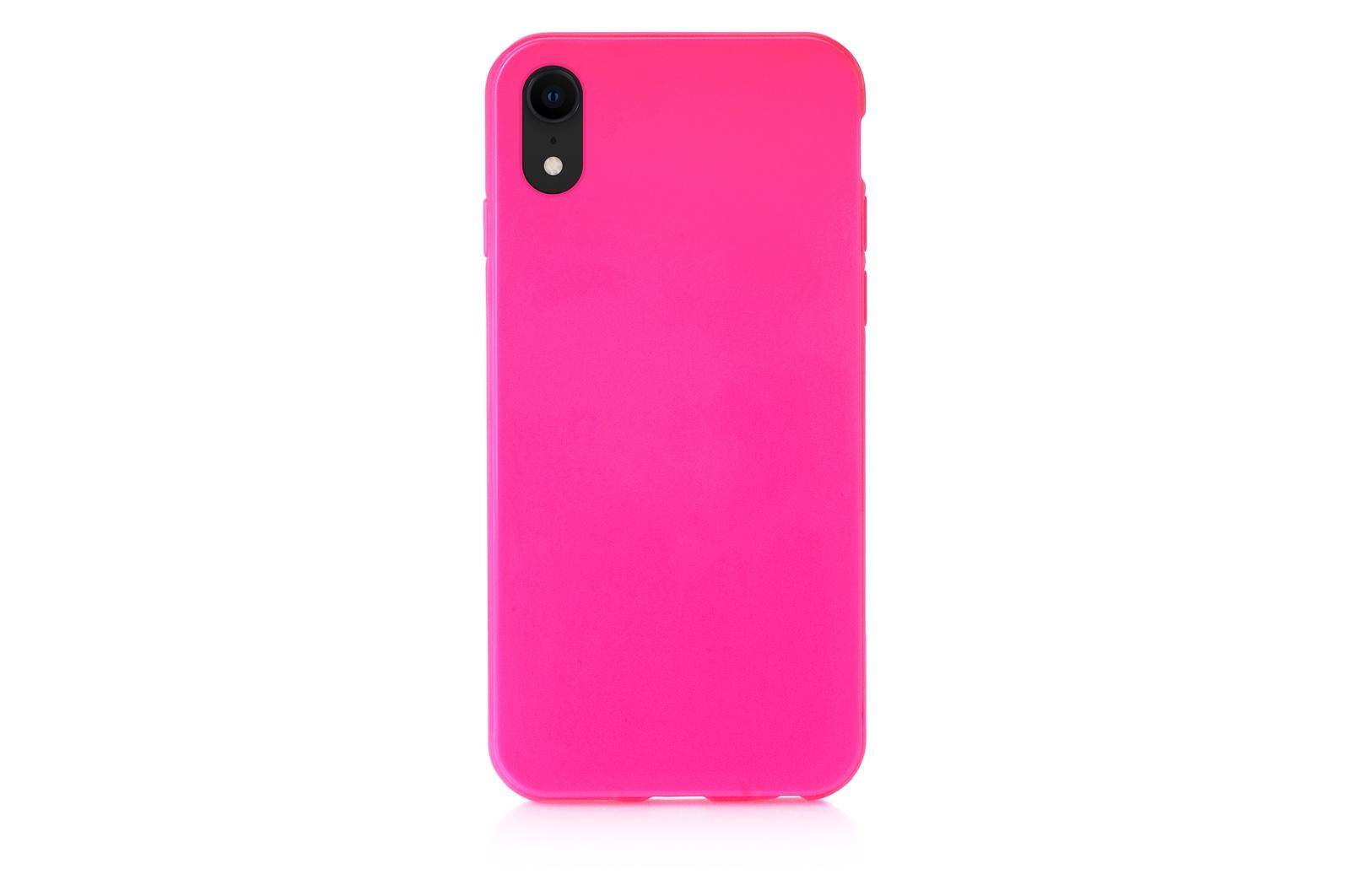 """Чехол для сотового телефона iNeez накладка силиконовый мыльница 907286 для Apple iPhone XR 6.1"""", темно-розовый"""