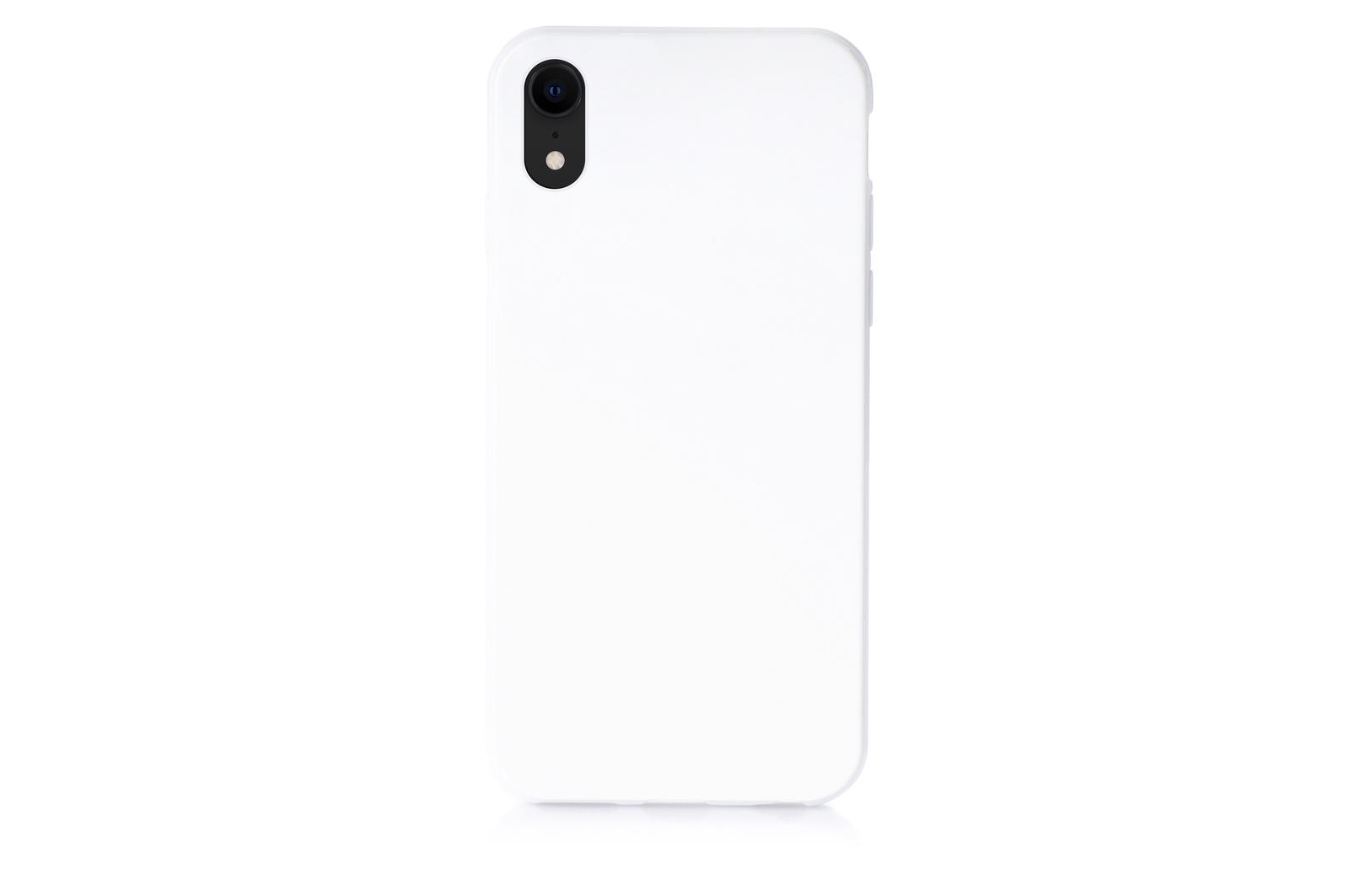 """Чехол для сотового телефона No name Чехол накладка iPhone XR 6.1"""" силиконовый мыльница белый, 907284"""
