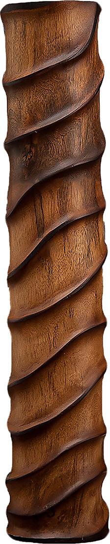 "Ваза ""Линии"", 3257012, коричневый, бежевый, 13 х 13 х 60 см"
