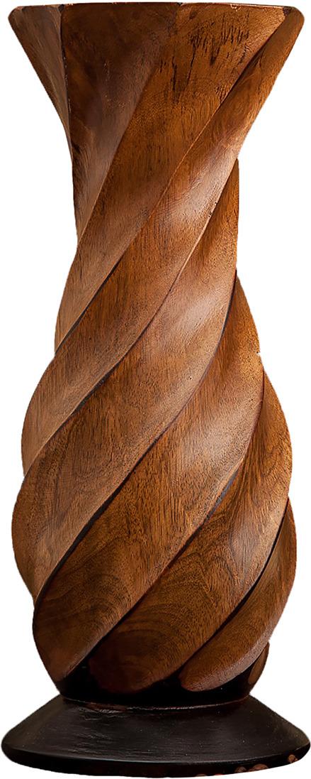 """Ваза """"Звезда"""", 3257000, коричневый, 15 х 15 х 38 см"""