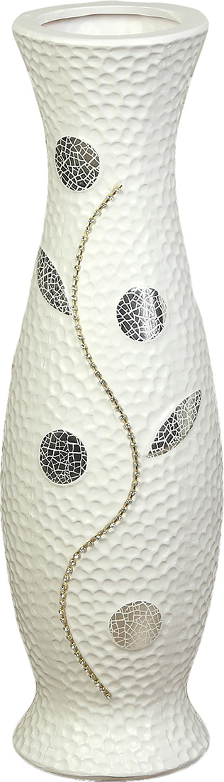 Ваза Цветочная ветвь, 3533184, белый3533184Особые свойства керамики делают вазы из этого материала очень популярными. Цветы простоят дольше, потому что керамика отлично регулирует температуру. Вода останется прохладной даже при высокой температуре в помещении.