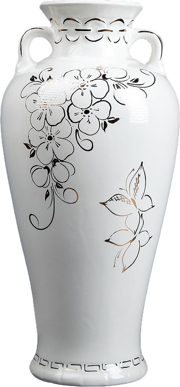 Ваза Керамика ручной работы Нирвана, 2746395, белый ах ты моя деточка русские народные песенки и потешки