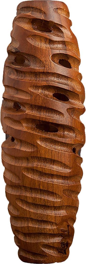 Ваза Влечение, 3257166, коричневый, 12,5 х 35 см