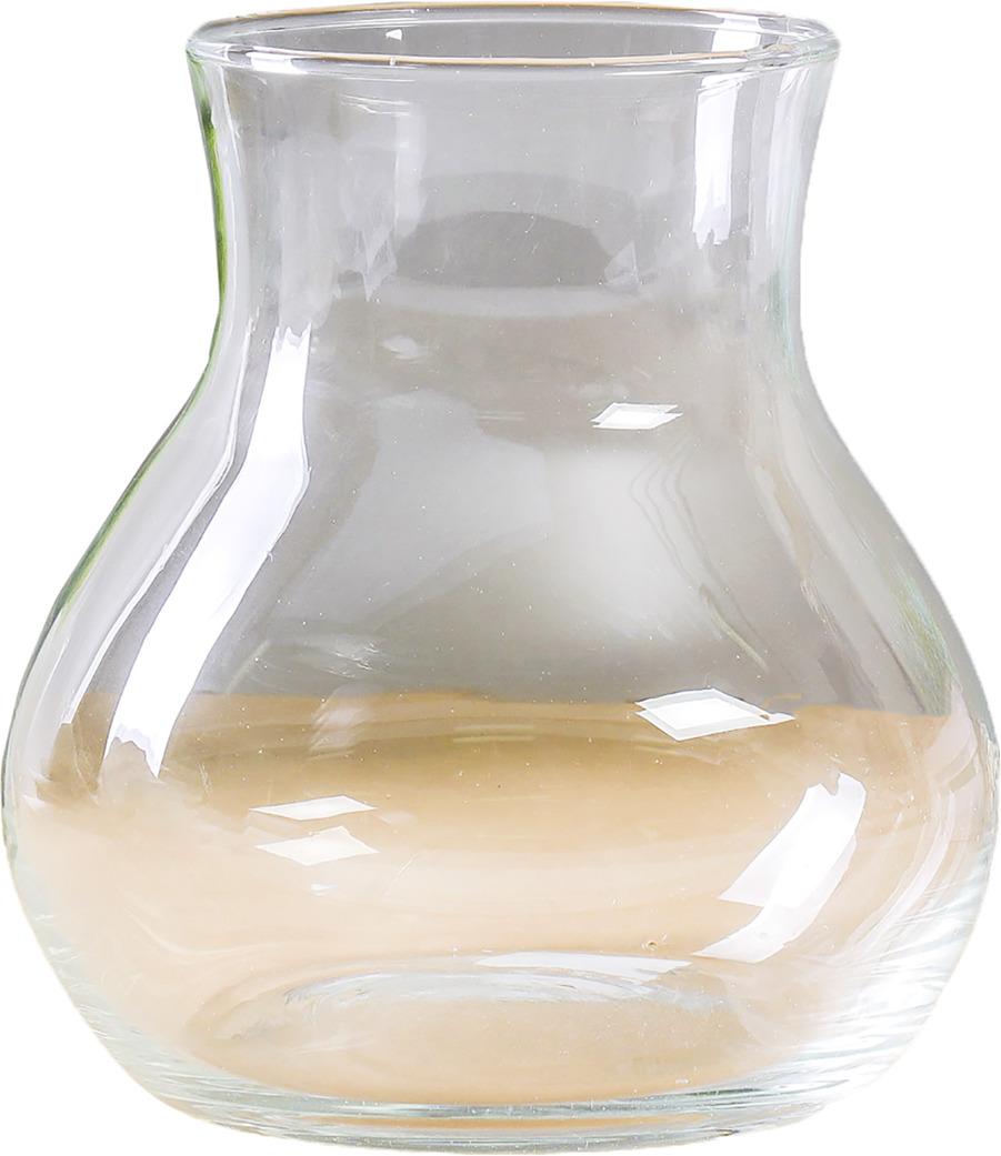 """Ваза Evis """"Виталина-3"""", 782142, прозрачный, 14 х 14 х 15,5 см"""