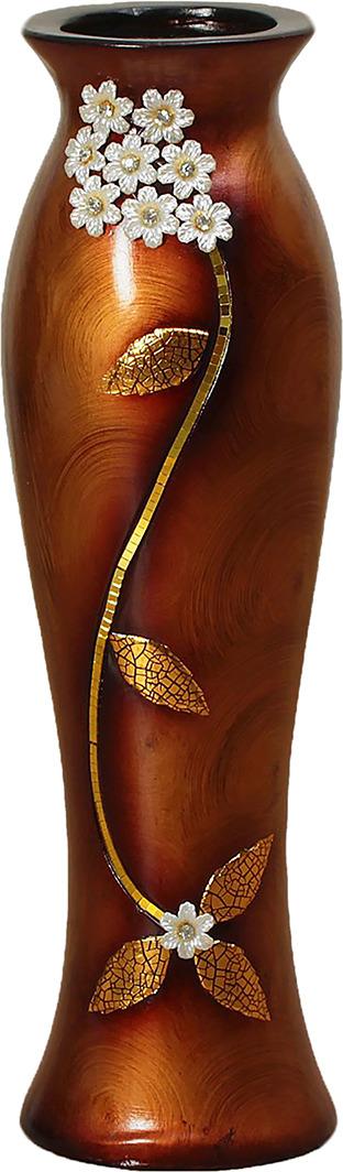 Ваза Версаль, 2541794, коричневый2541794Особые свойства керамики делают вазы из этого материала очень популярными. Цветы простоят дольше, потому что керамика отлично регулирует температуру. Вода останется прохладной даже при высокой температуре в помещении.