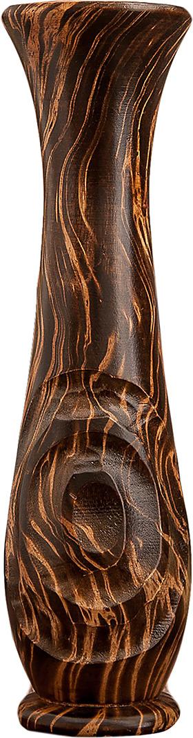 Ваза Восход, 3256968, коричневый, 10 х 10 х 35 см3256968Оригинальная декоративная ваза из мангового дерева. Если вы хотите украсить свою спальню или преподнести красивый и полезный подарок своим друзьям или родным, то эта изящная ваза - прекрасный выбор.