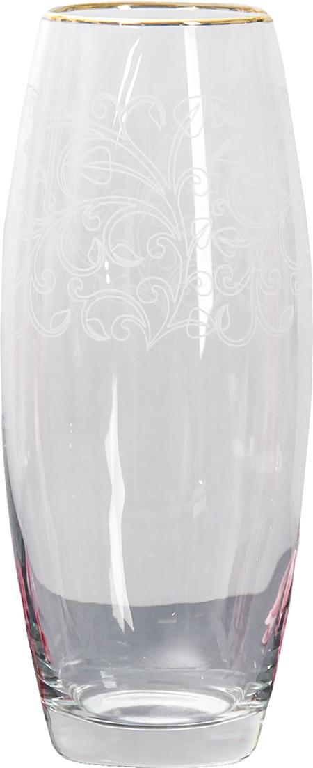 "Ваза Керамикс ""Эдем"", 3567806, прозрачный, 10 х 10 х 26 см"