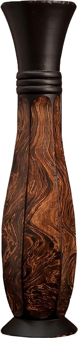 "Ваза ""Грация"", 3257006, коричневый, 13 х 13 х 50 см"