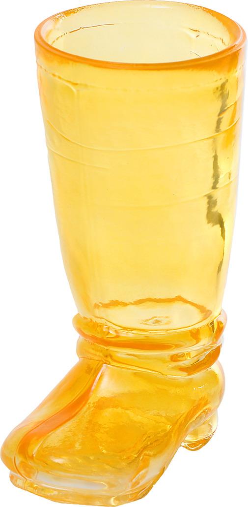 """Ваза Evis """"Ботфорт"""", 2831613, желтый, 8,5 х 10,8 х 18,2 см"""