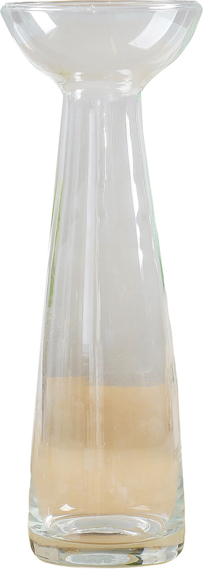 "Ваза Evis ""Гиацинт-1"", 758504, прозрачный, 8 х 8 х 20 см"
