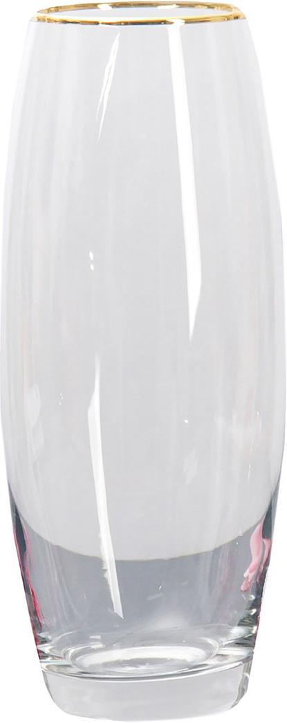 """Ваза Керамикс """"Flora"""", 3567810, прозрачный, 10 х 10 х 26 см"""
