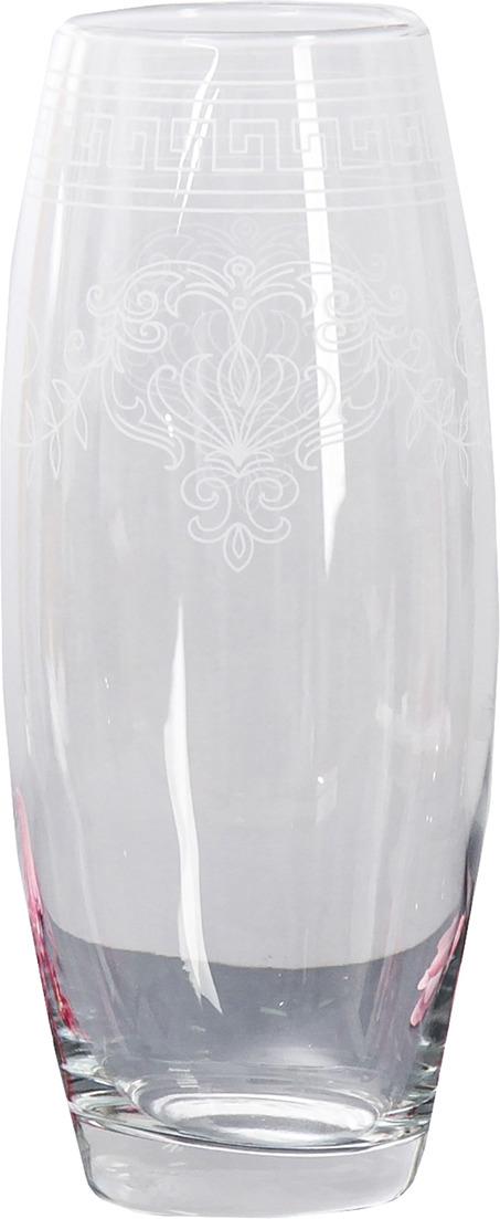 """Ваза Керамикс """"Барокко"""", 3567800, прозрачный, 10 х 10 х 26 см"""