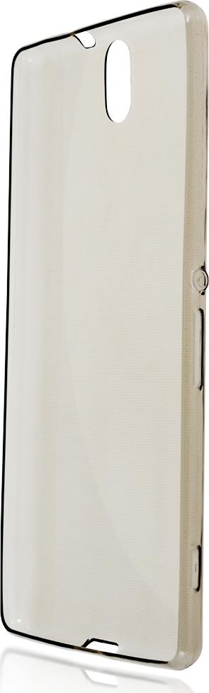 Чехол Brosco TPU для Sony Xperia C5 Ultra, черный чехол для sony i4213 xperia 10 plus brosco силиконовая накладка черный