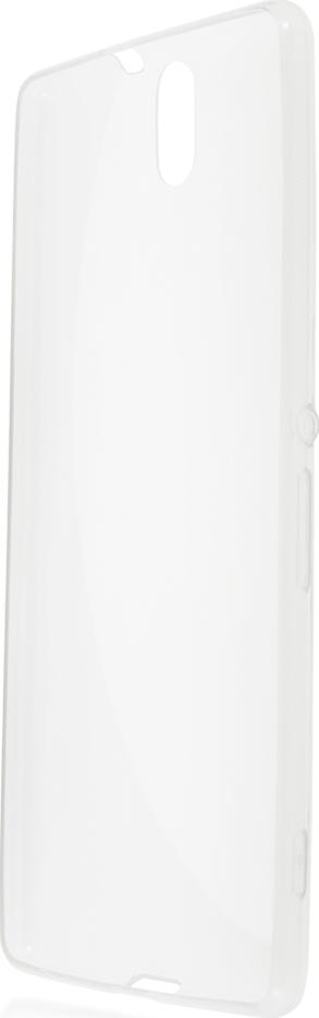 Чехол Brosco TPU для Sony Xperia C5 Ultra, прозрачный
