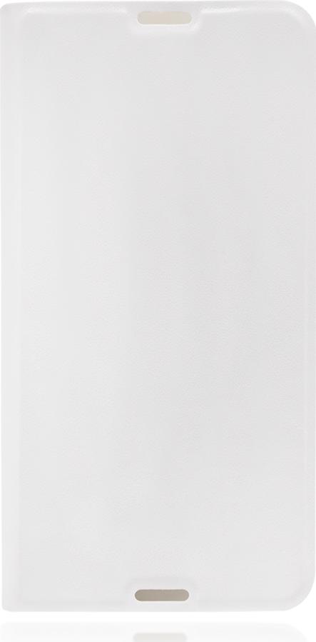 Чехол Brosco Book для Sony Xperia E4G, белый все цены