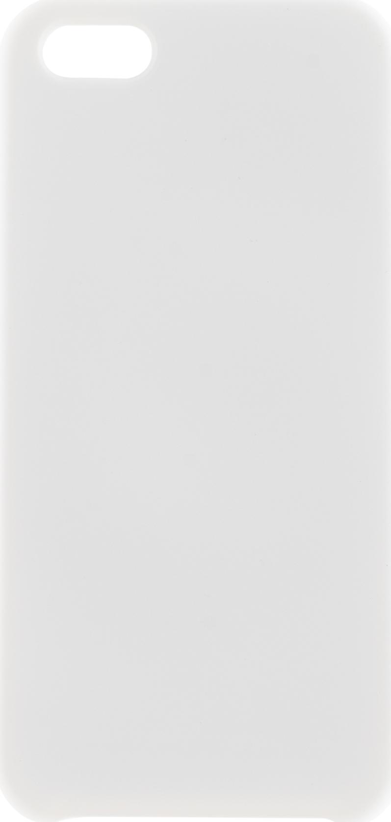 Чехол Brosco Softrubber для Apple iPhone 5, белый аксессуар чехол для apple iphone 6 brosco soft rubber black ip6 softrubber black