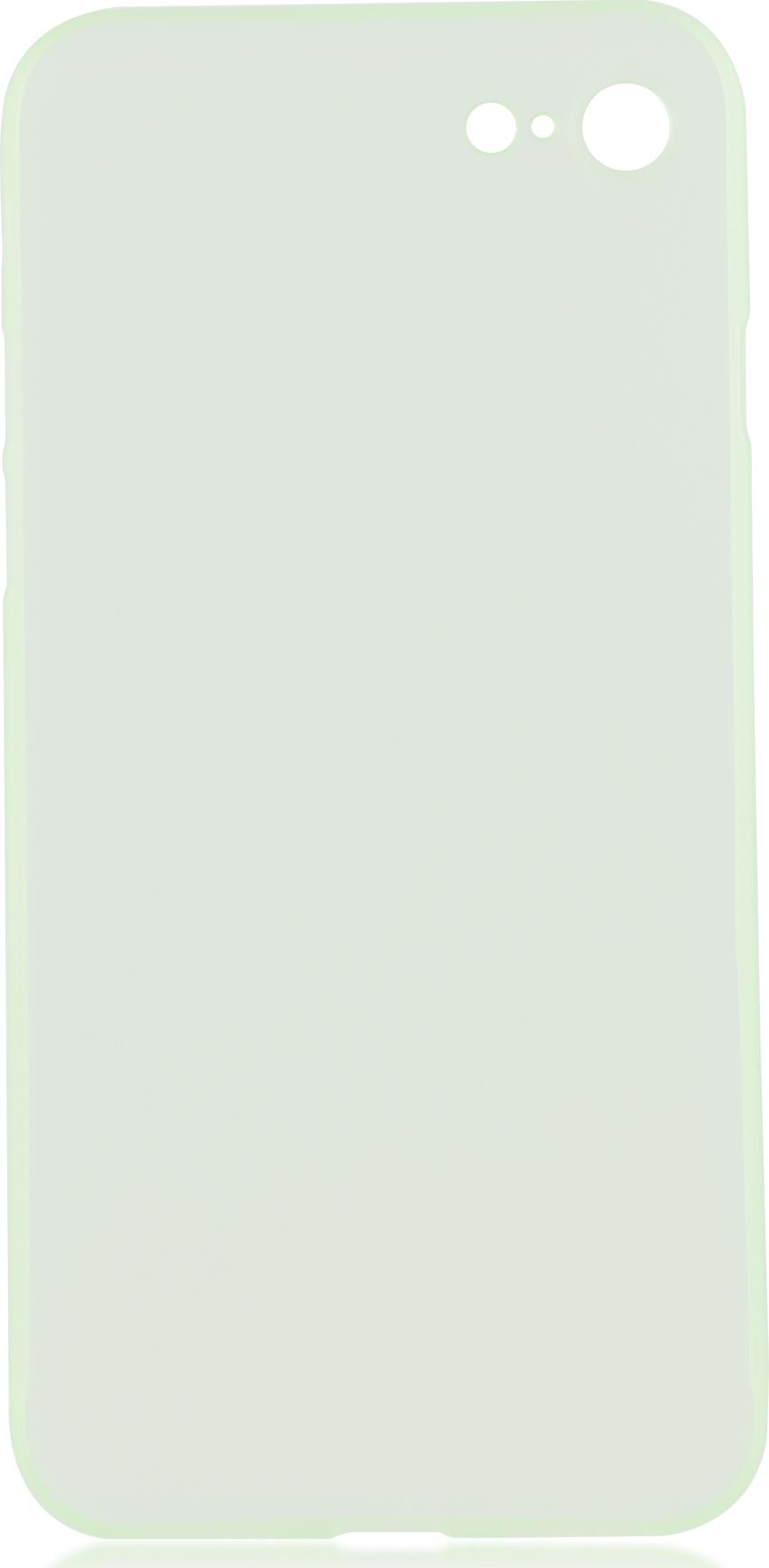 Чехол Brosco SuperSlim для Apple iPhone 7, зеленый чехол для сотового телефона brosco superslim для iphone 6 ip6 pp superslim red красный