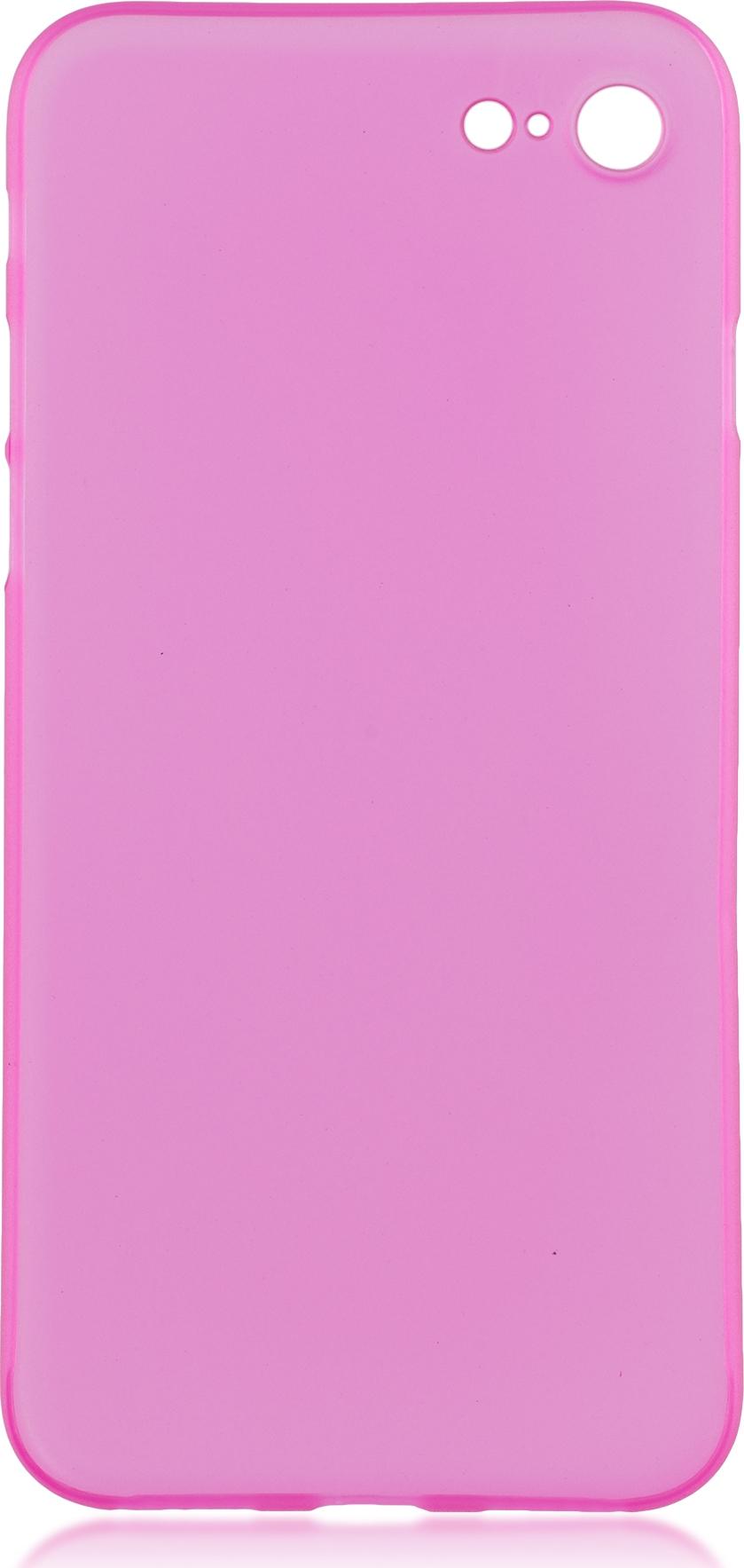 Чехол Brosco SuperSlim для Apple iPhone 7, розовый мой милый пёс