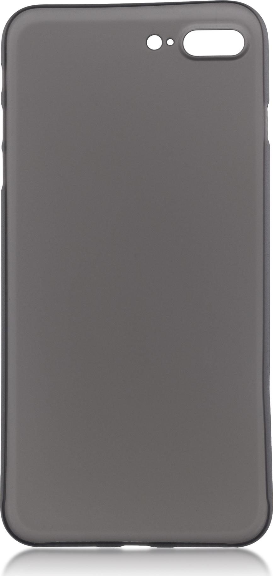 Чехол Brosco SuperSlim для Apple iPhone 7 Plus, черный чехол для сотового телефона brosco superslim для iphone 6 plus ip6p pp superslim blue голубой