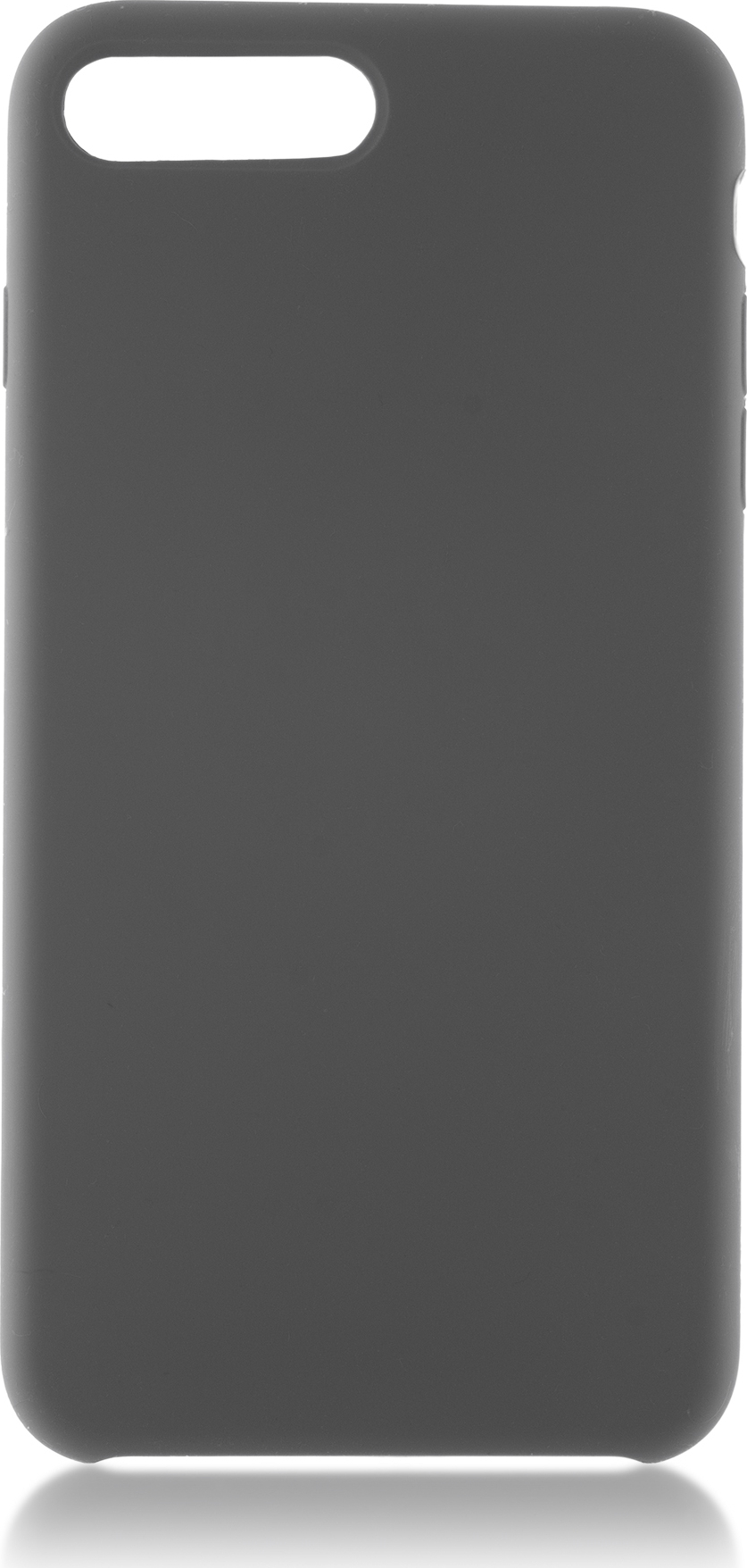 Чехол Brosco Softrubber для Apple iPhone 7 Plus, серый аксессуар чехол для apple iphone 6 brosco soft rubber black ip6 softrubber black