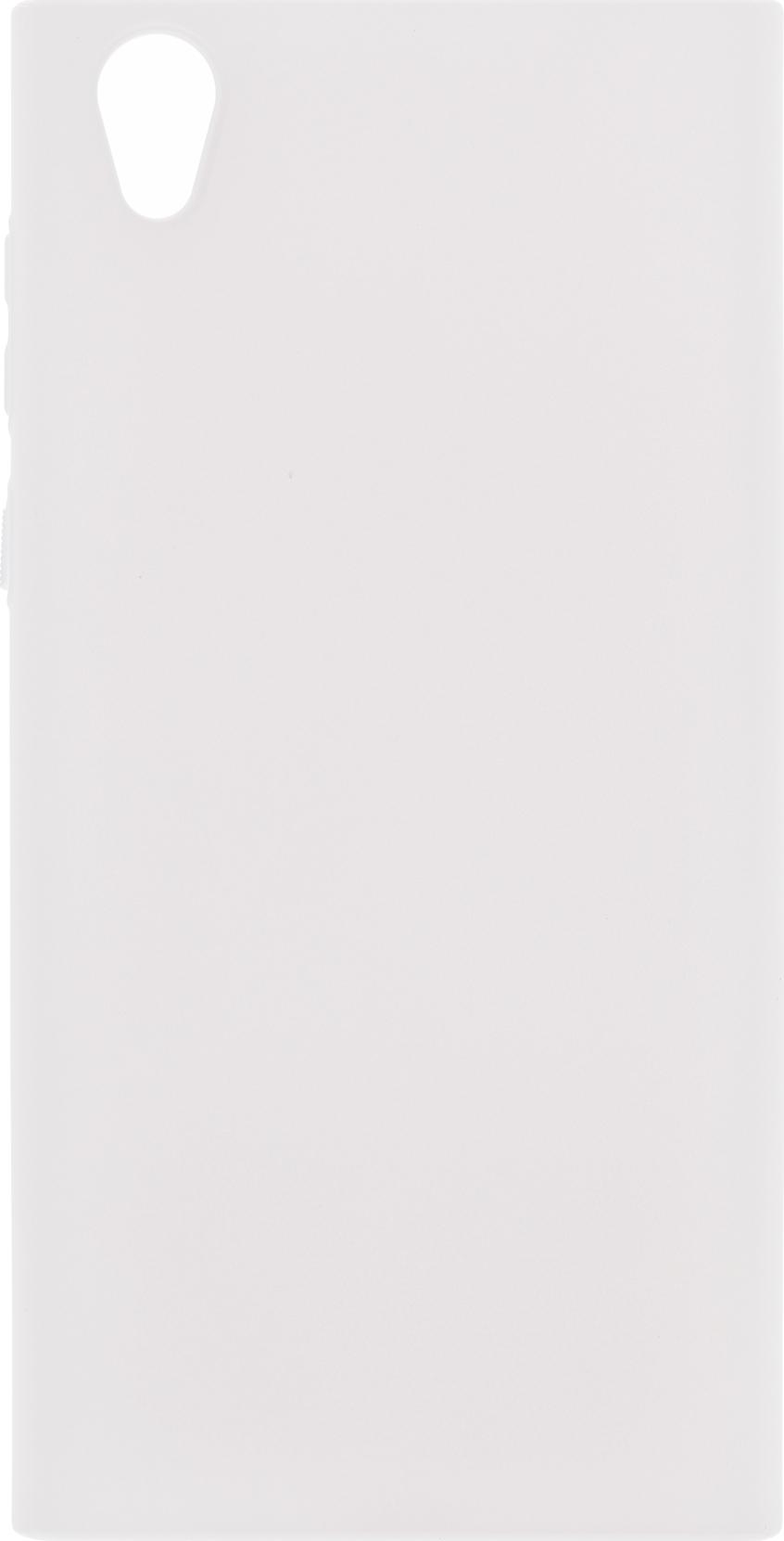 Чехол Brosco 4Side Soft-Touch для Sony Xperia L1, белый