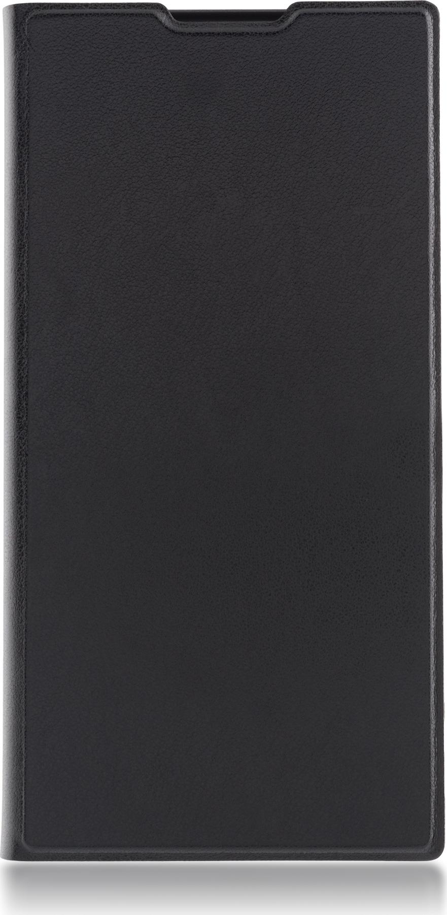 Чехол Brosco Book для Sony Xperia L1, черный чехол для sony i4213 xperia 10 plus brosco силиконовая накладка черный
