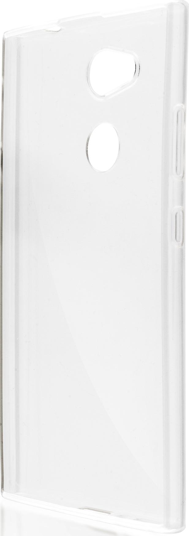 Чехол Brosco TPU для Sony Xperia L2, прозрачный