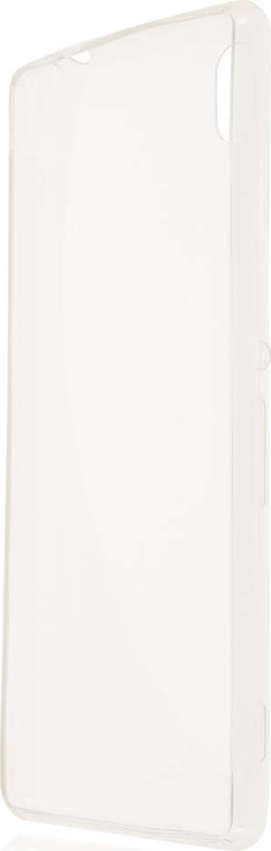 Чехол Brosco для Sony Xperia M4, прозрачный цена